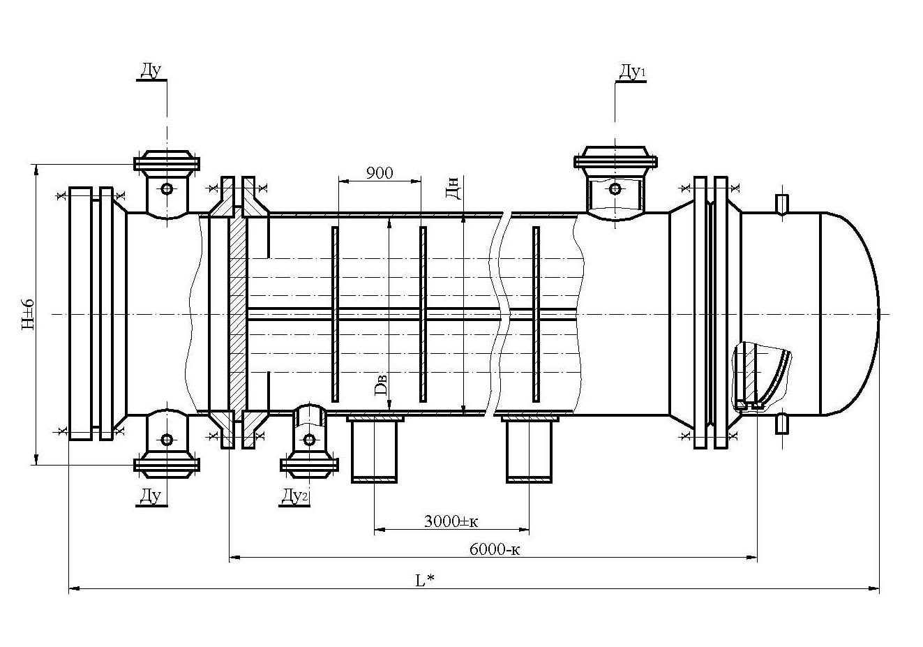 Вес теплообменника тп 800 Кожухотрубный испаритель Alfa Laval DM1-276-2 Сарапул